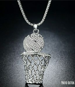 Other - New hip hop style basketball pendent necklace